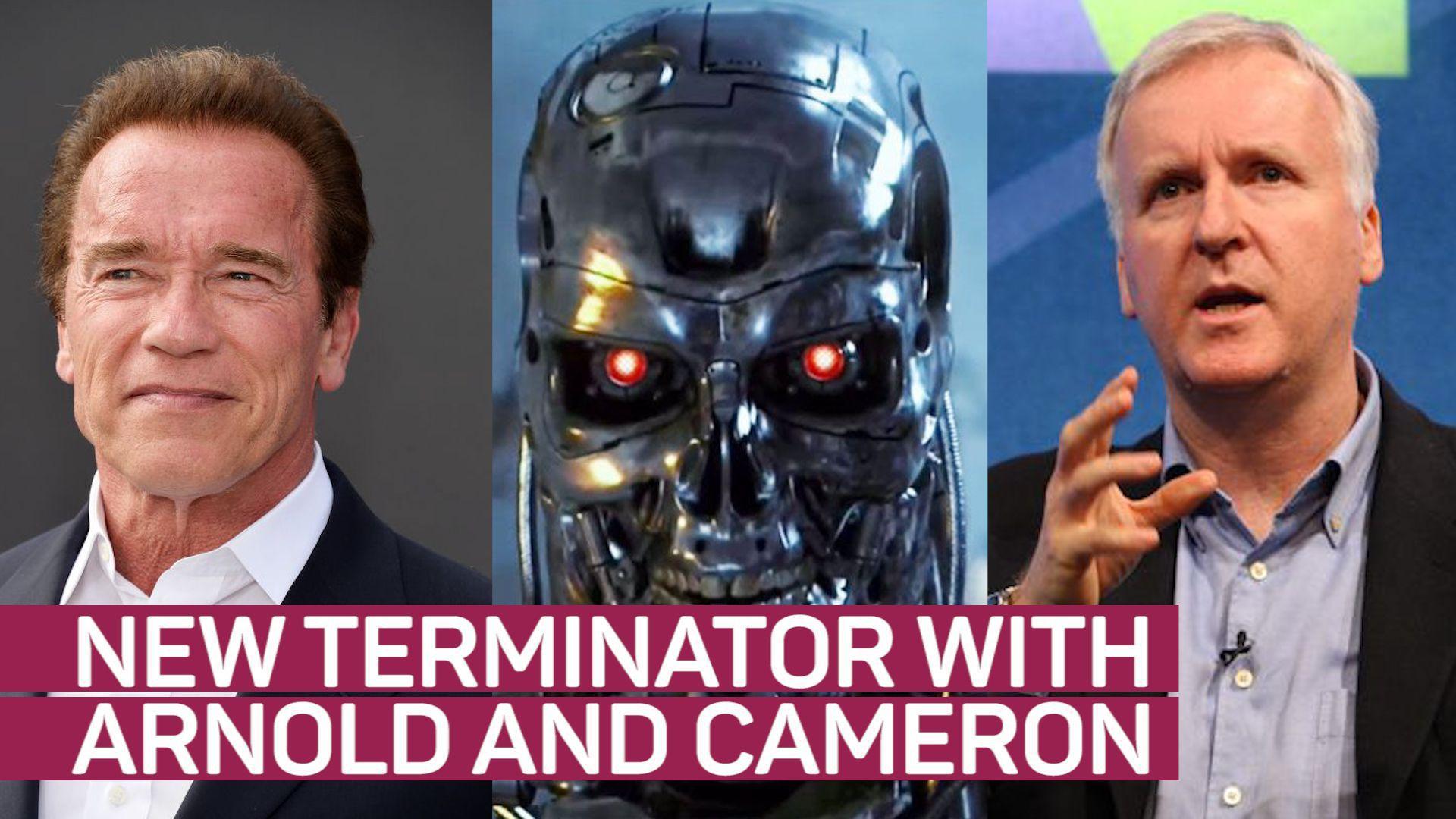 New 'Terminator' to reunite Schwarzenegger and Cameron