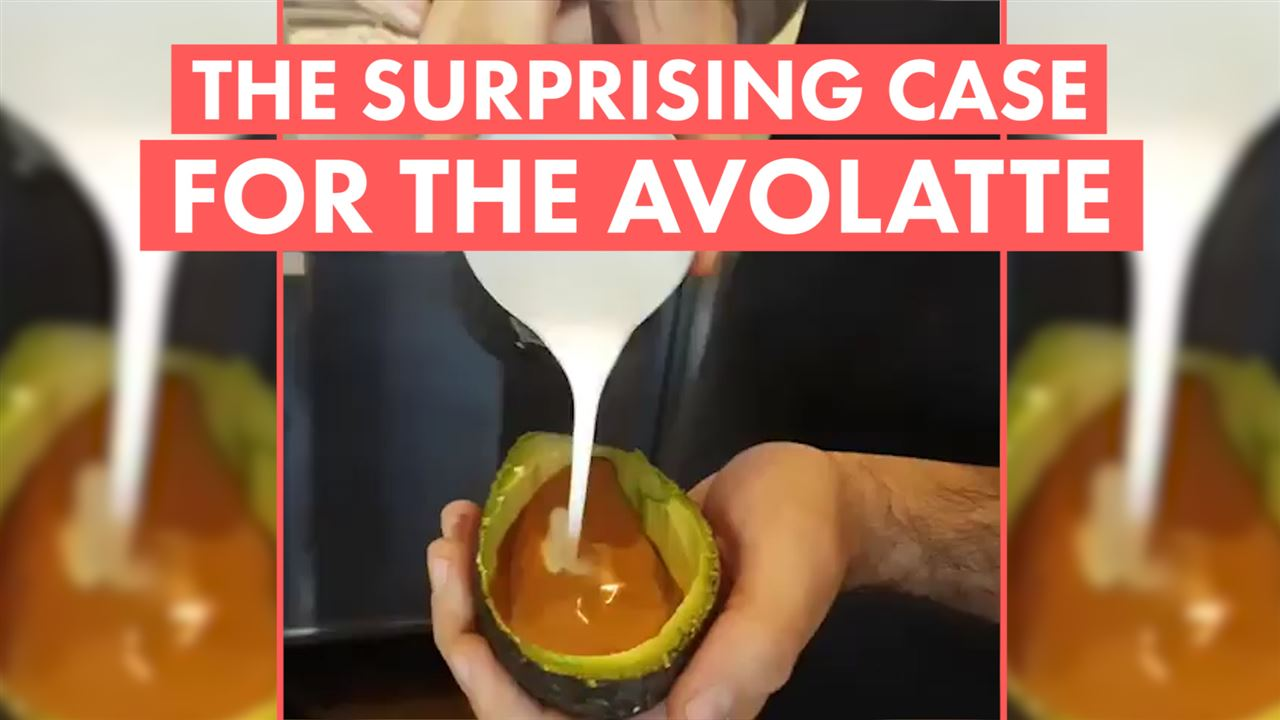 The avolatte: A secret 'f*** you' to older generations