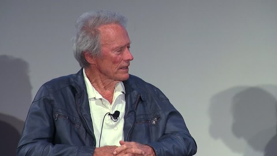 """Eastwood recalls his childhood dream to """"pack a gun and ride a horse"""""""