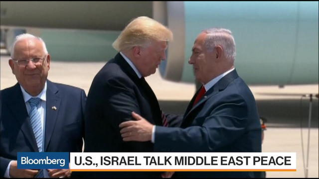 Trump Touches Down in Israel to Talk Mideast Peace