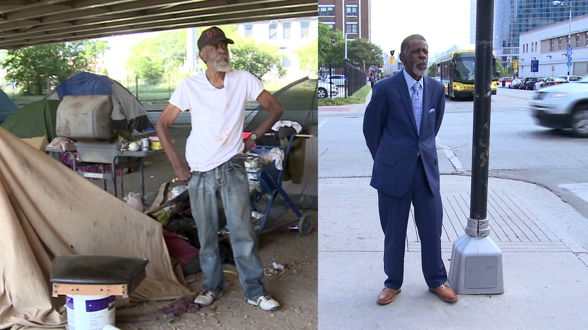 Simple Makeover Changes the Way People Treat Homeless Man