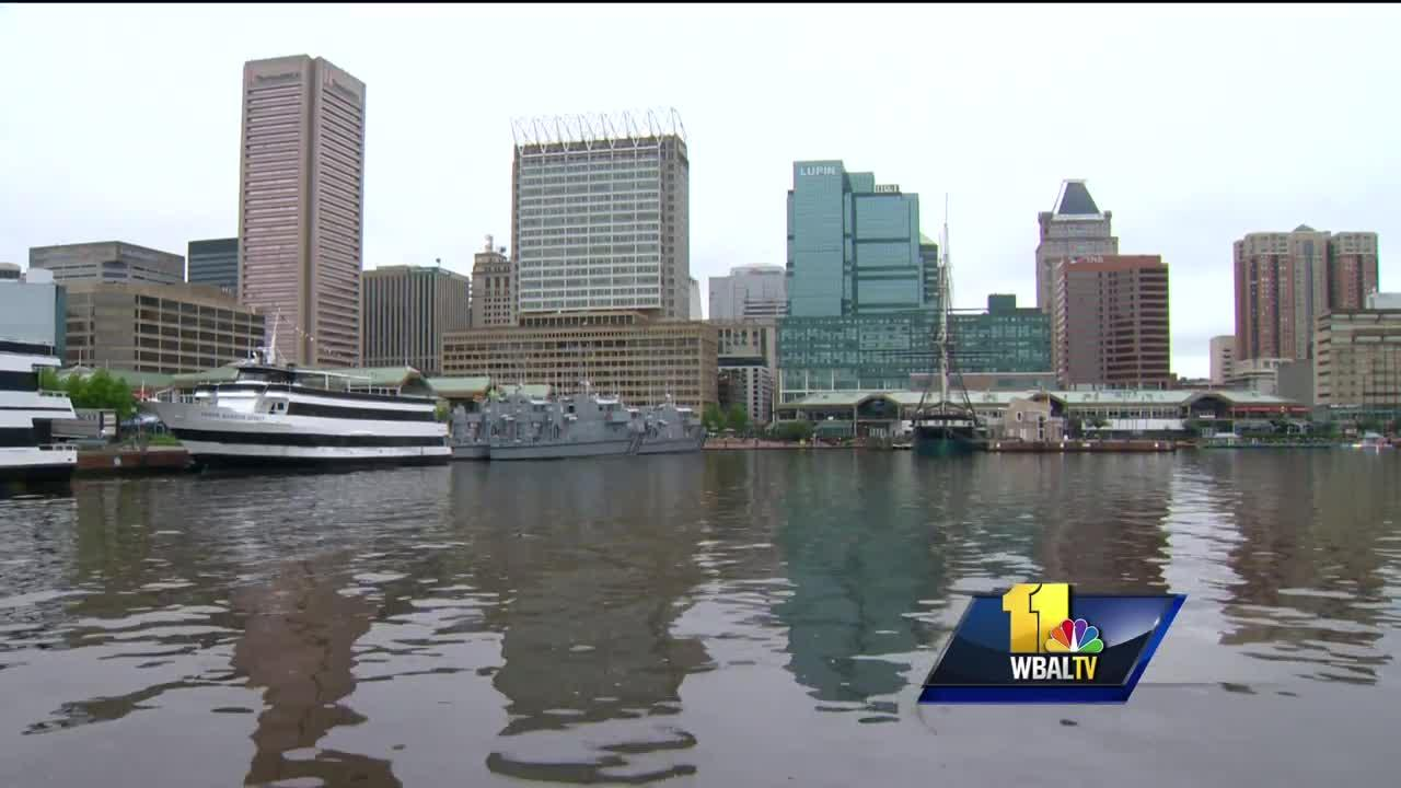 Video: Baltimore Harbor gets failing grade, but there is a plus side