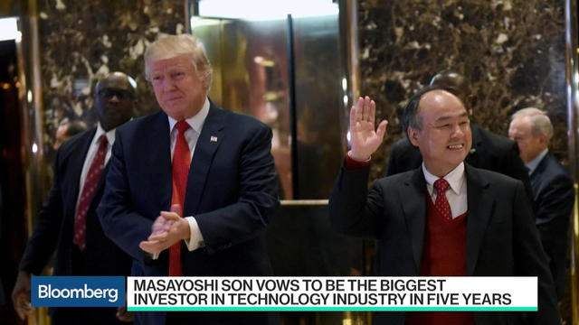 SoftBank's Son Vows to Be Biggest Tech Investor