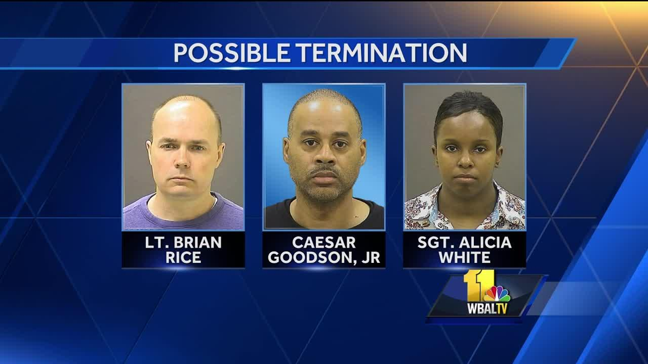 Video: 5 officers in Freddie Gray case face disciplinary action
