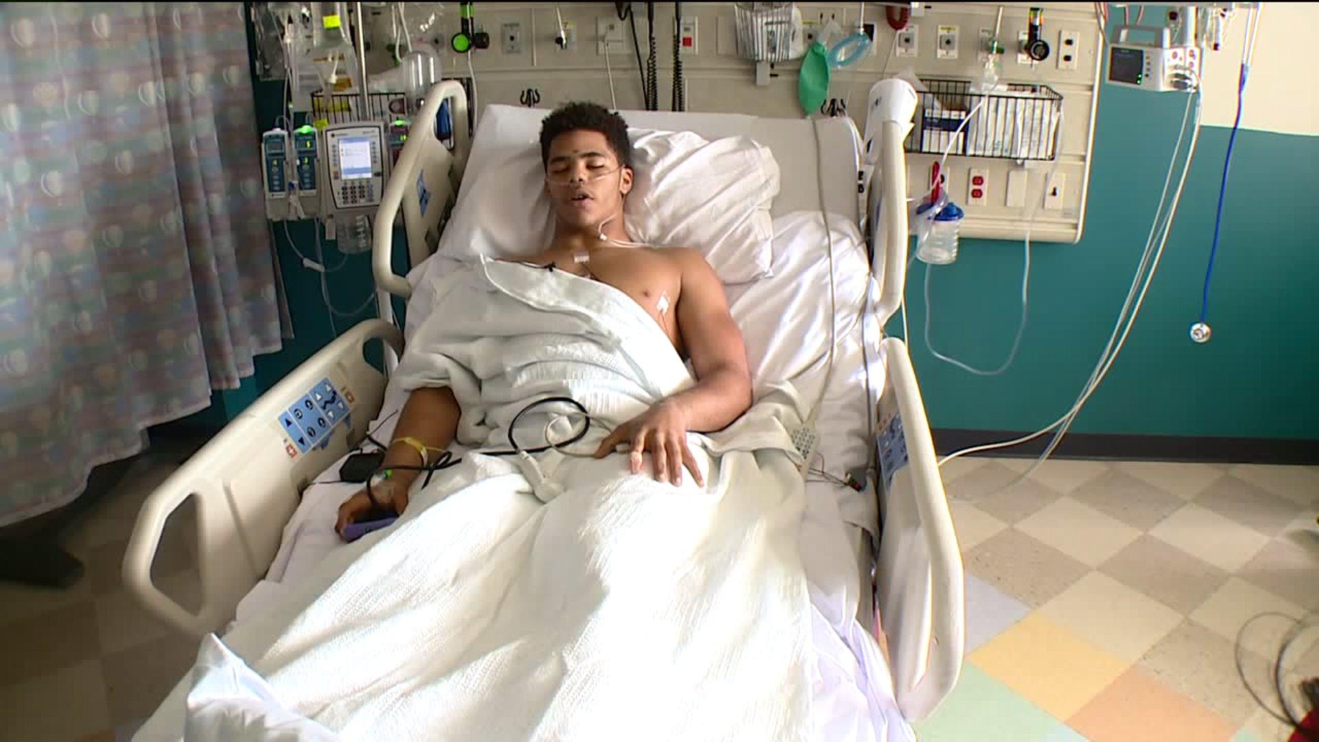 Ohio Teen Paralyzed in Car Crash is Determined to Walk Again