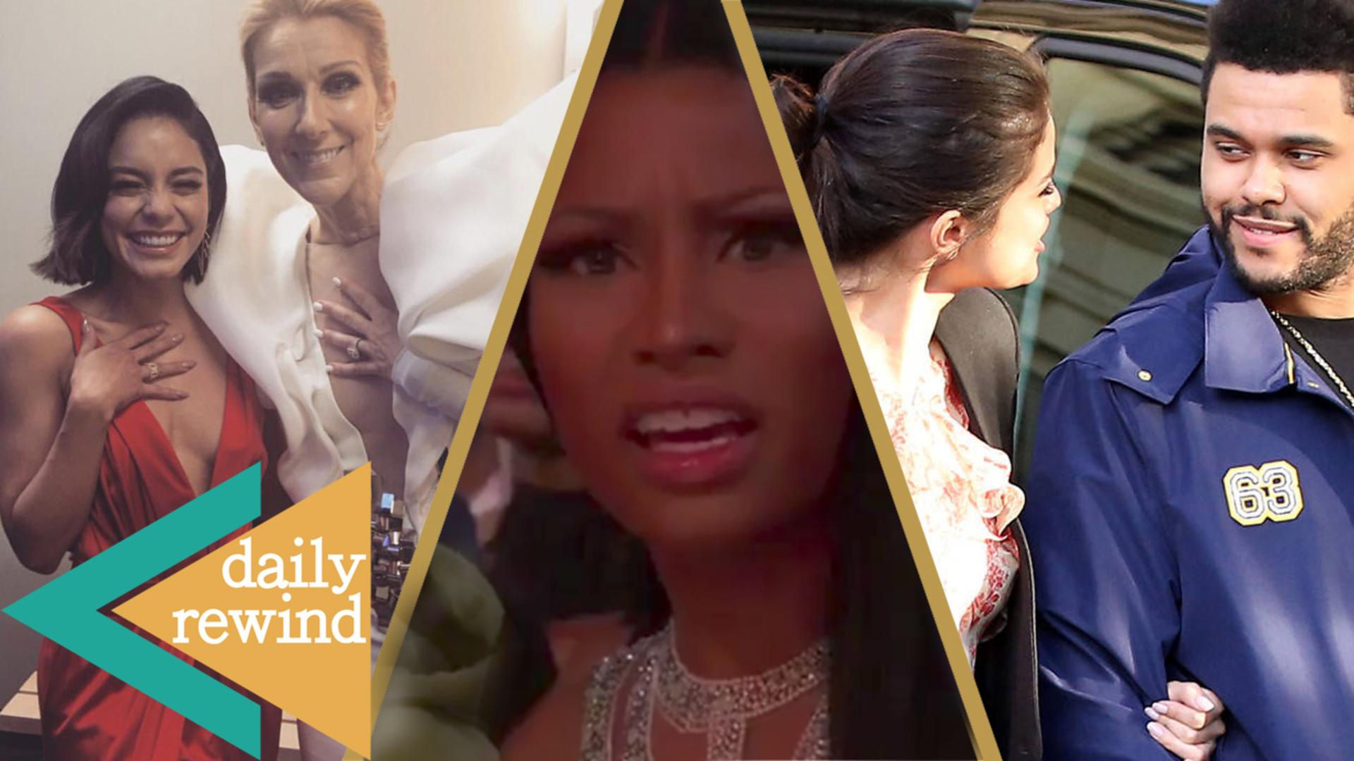 Vanessa Hudgens & Nicki Minaj Billboard Music Awards DRAMA, Selena Gomez & The Weeknd Collab? -DR