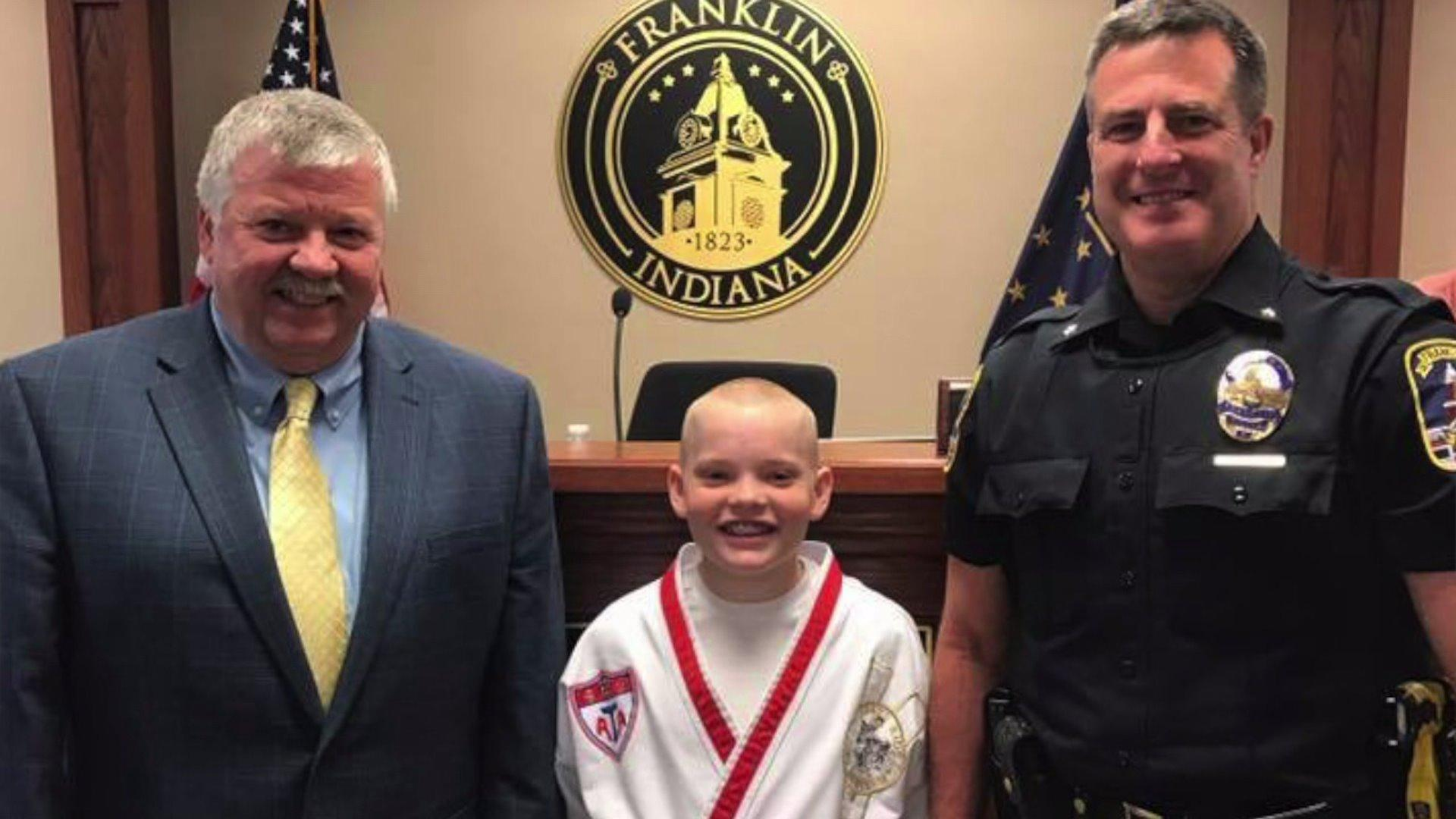 10-Year-Old Boy Raises Thousands for Police K9 Vests