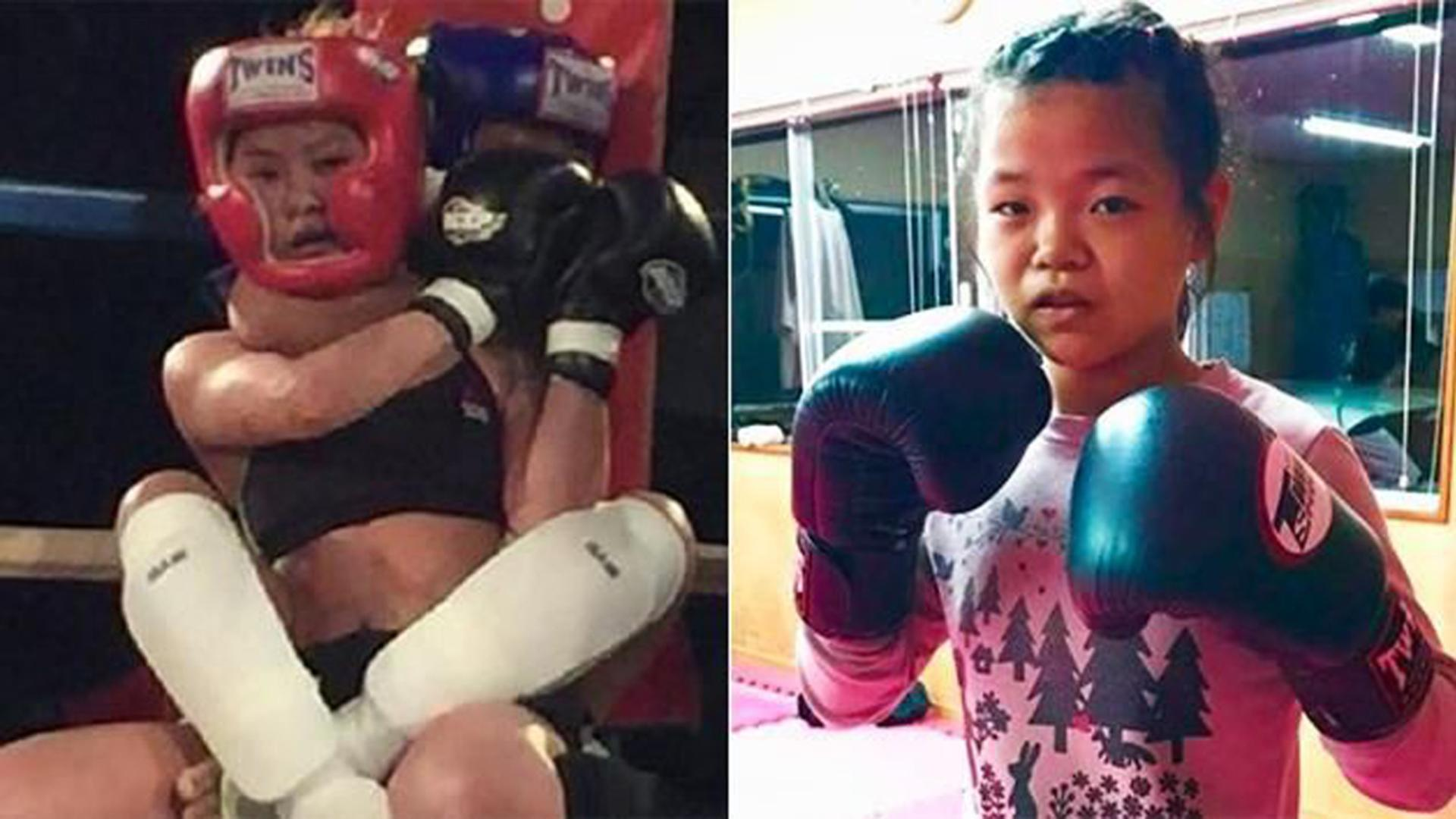 12-Year-Old Kid CHOKES OUT 24-Year-Old Opponent in MMA Debut