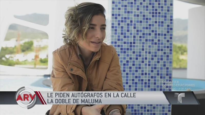 Gemela de Maluma causa sensación en redes