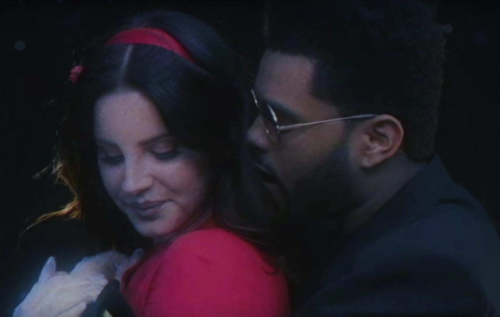 The Weeknd Getting TOO CLOSE To Lana Del Ray In Newest Music Video!?