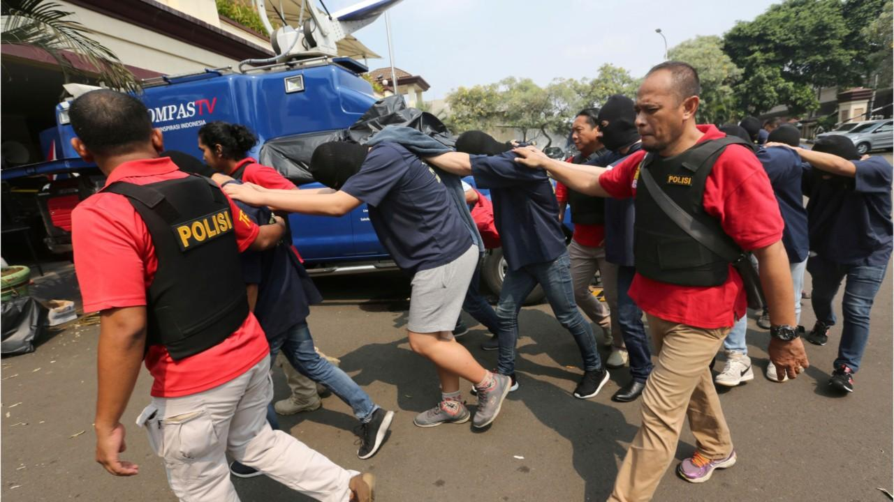 Gay Sex Party Raid Latest LGBT Crackdown in Jakarta