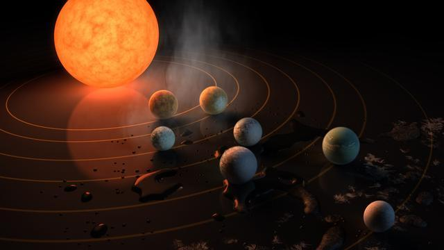 Astronomers Gain New Information About Enigmatic Exoplanet Trappist-1h