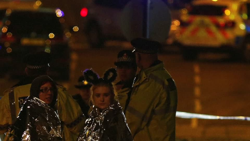 Blast kills 19 at concert; suicide bomber suspected