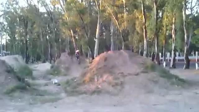 BMX - Double Tailwhip Fail