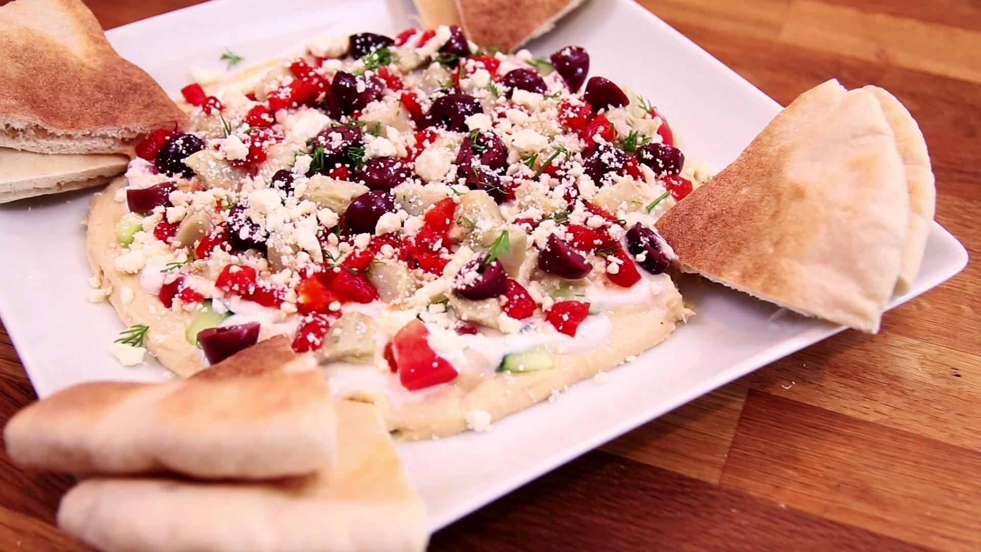 This Hummus Dip Has Everything You Want in an Appetizer