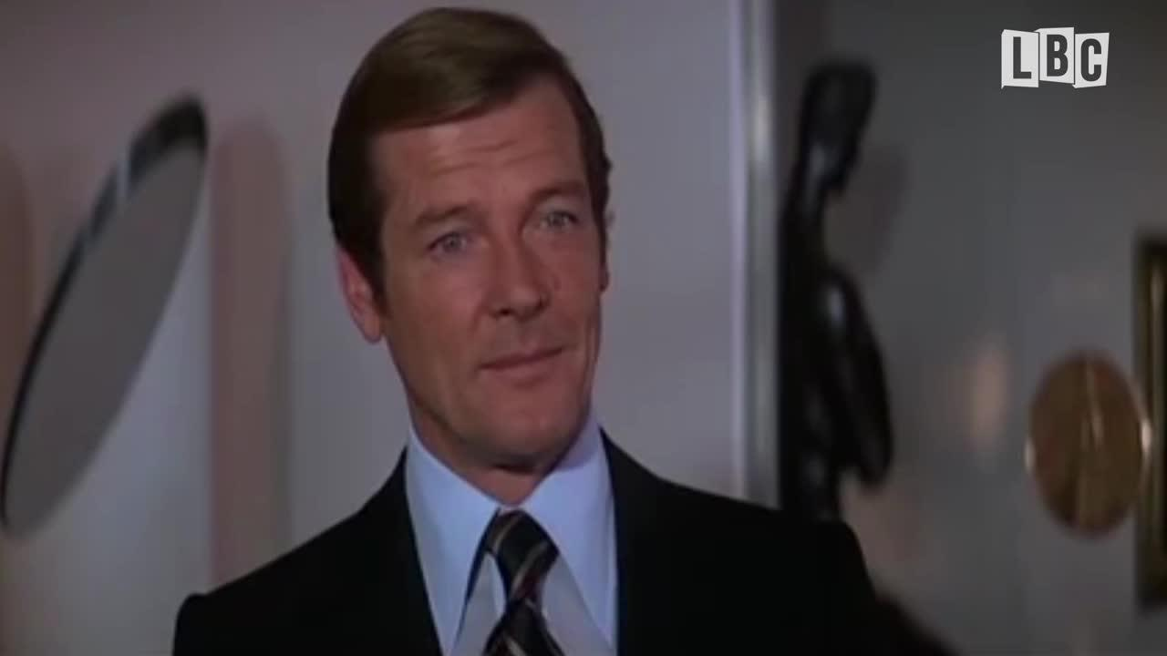Sir Roger Moore's James Bond one lines