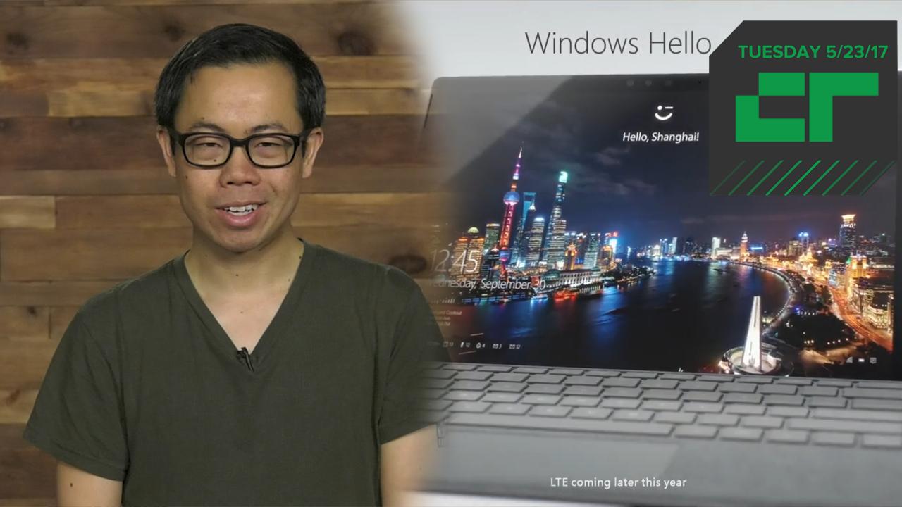 Crunch Report | Microsoft Announces New Surface Pro