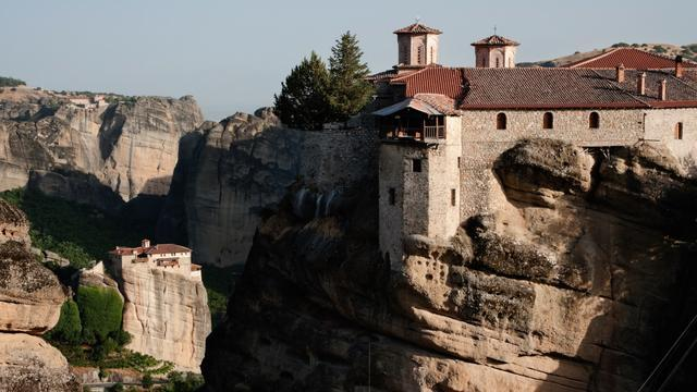 Greece's 'In The Sky' Monasteries Have Withstood Time, War, And Many Odds
