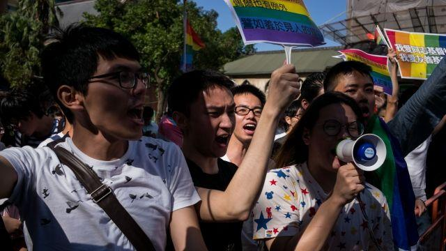 Taiwan's Highest Court Rules in Favor of Gay Marriage