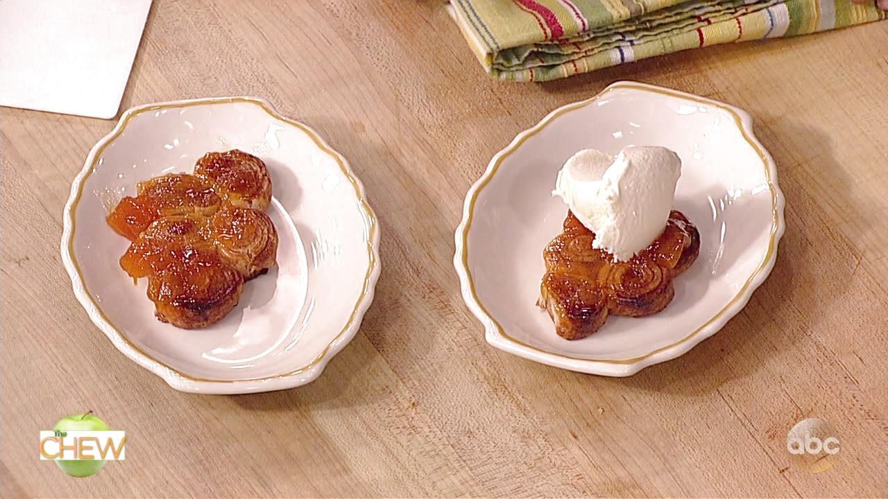 Carla Hall's Peach Pie Pinwheel Recipe