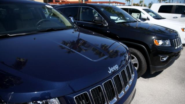 US Government Sues Fiat Chrysler Over Emissions