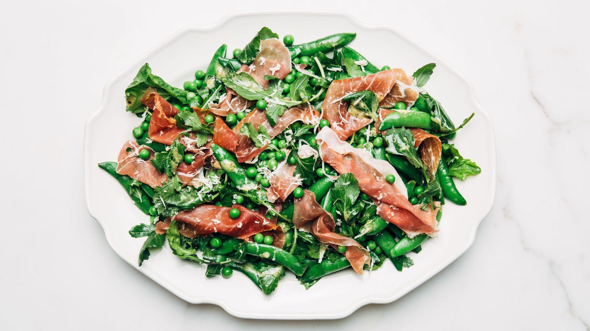 Pea And Prosciutto Salad