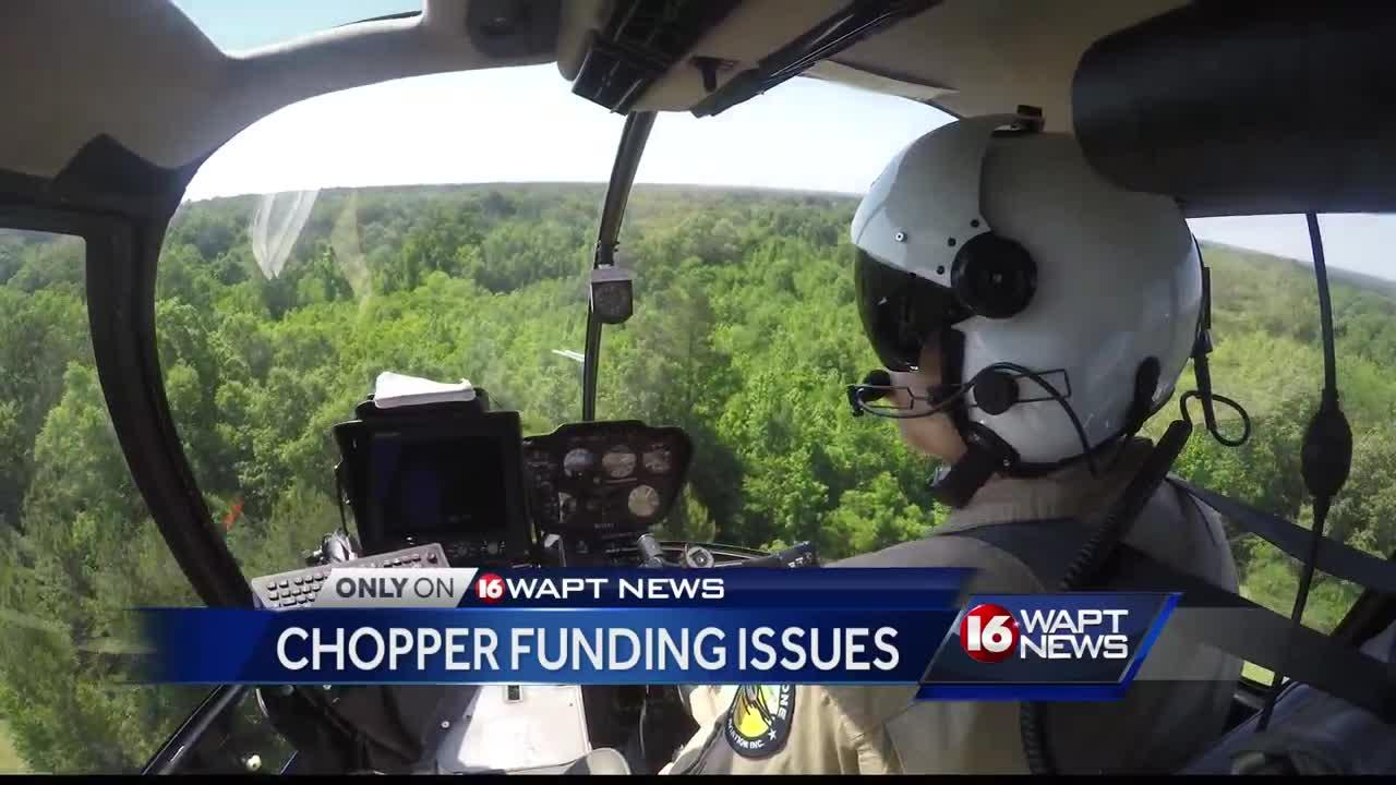 Chopper funding issues
