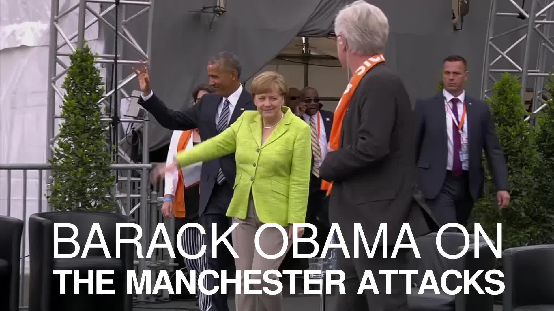 Barack Obama 'heartbroken' about Manchester attack