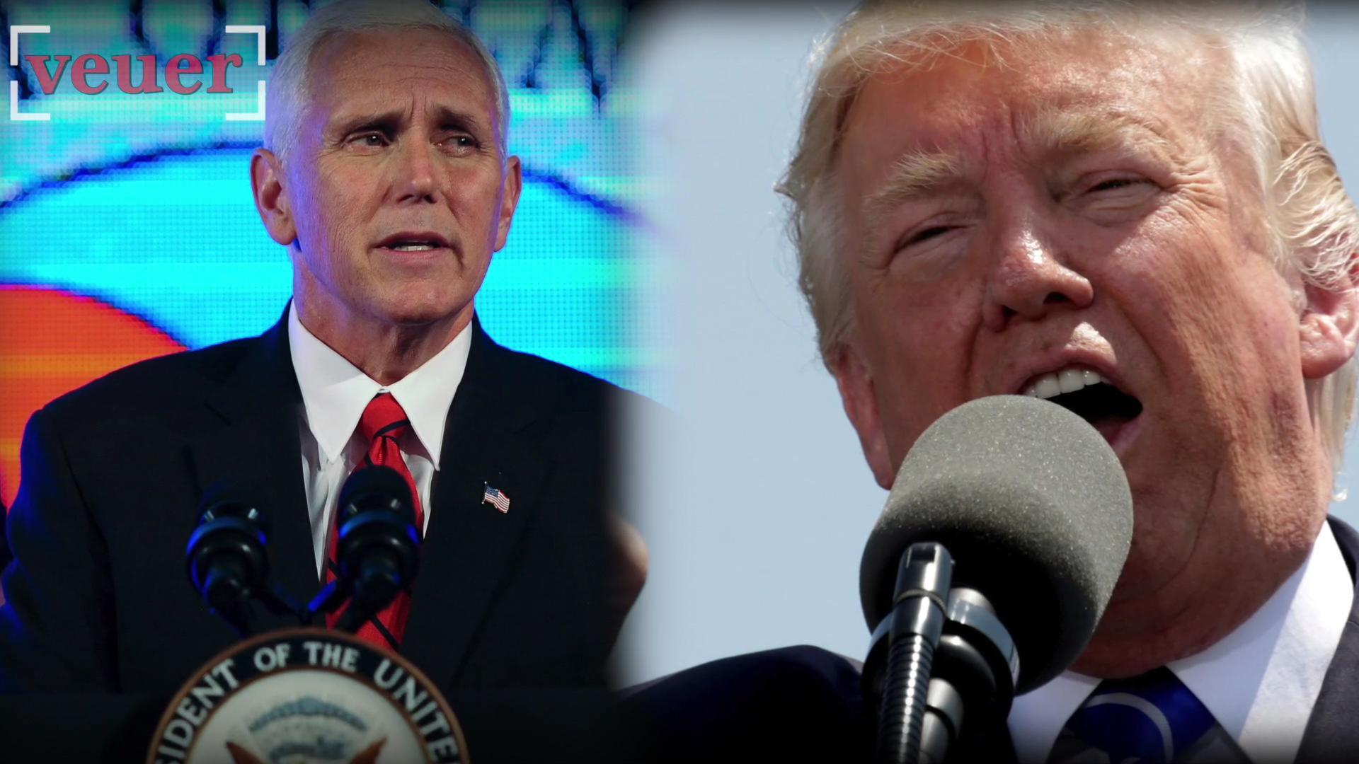 Trump and Pence Approval Ratings Fall to All-time Lows