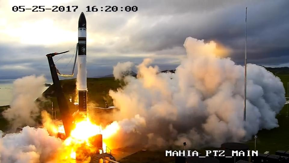 New Zealand launches into space race with 3D-printed rocket