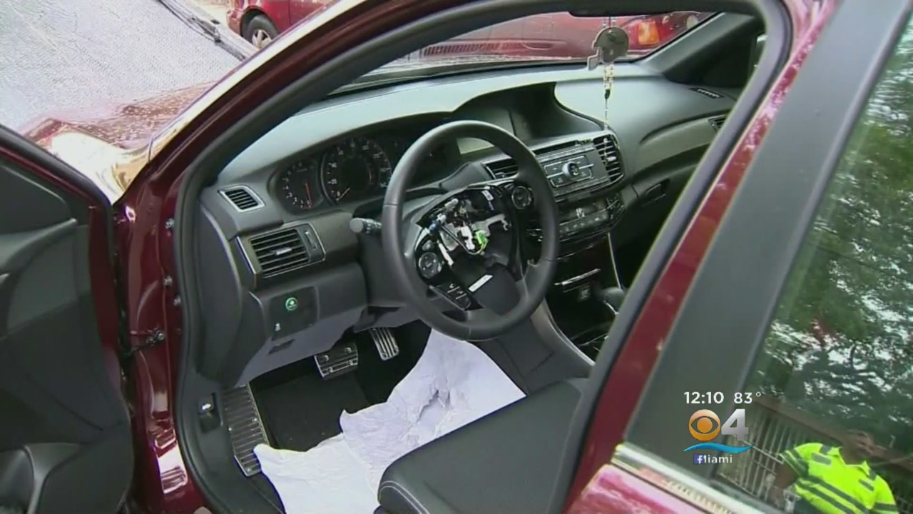 Airbags Stolen From Multiple Cars As Burglars Strike Miami Apartment Complex