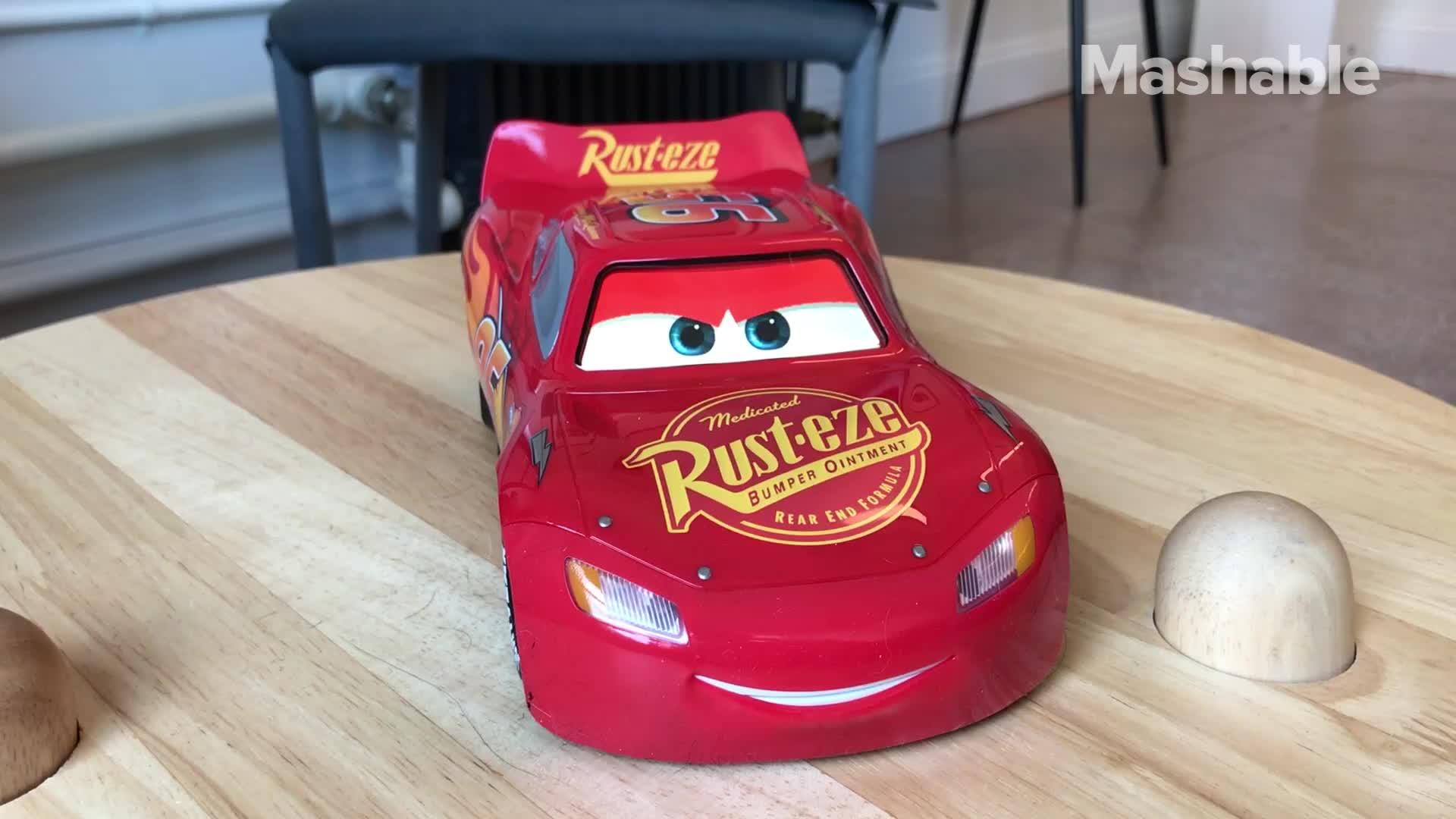 Love 'Cars'? You can now talk to Lightning McQueen for real