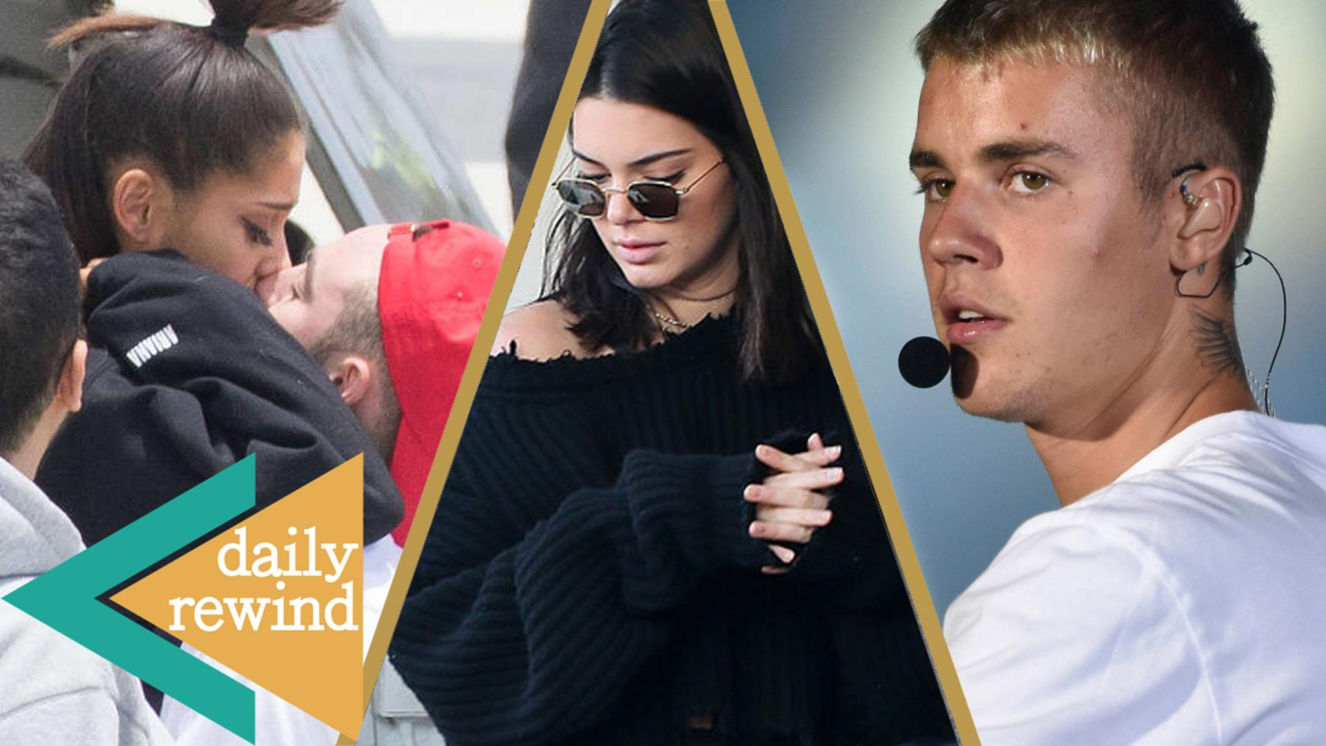 Justin Bieber FORGETS His Own Lyrics, Kendall Jenner's Romantic Date, Ariana Reunites w/ Family -DR