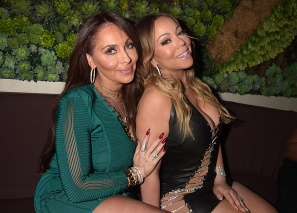 Mariah Carey gives the mic a break to open new Beverly Hills beauty company