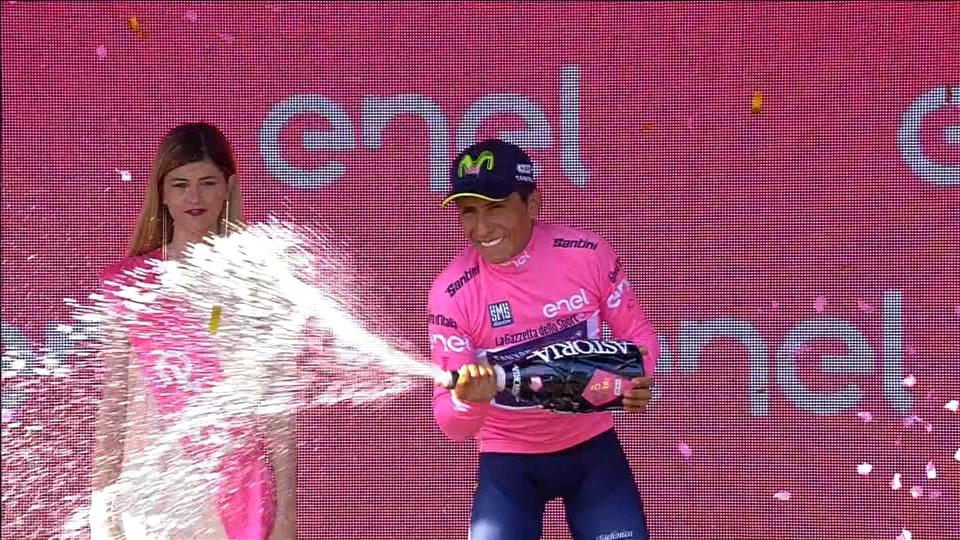 Landa wins Giro stage 19, Quintana moves into overall lead