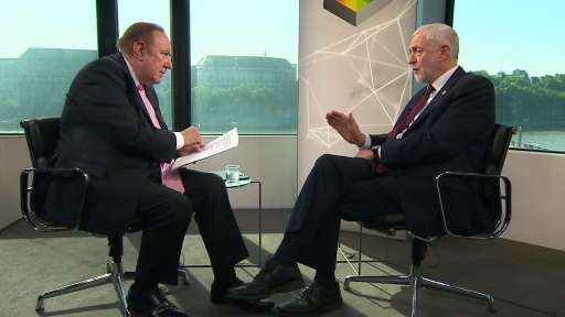 Does Corbyn back Labour Trident stance?