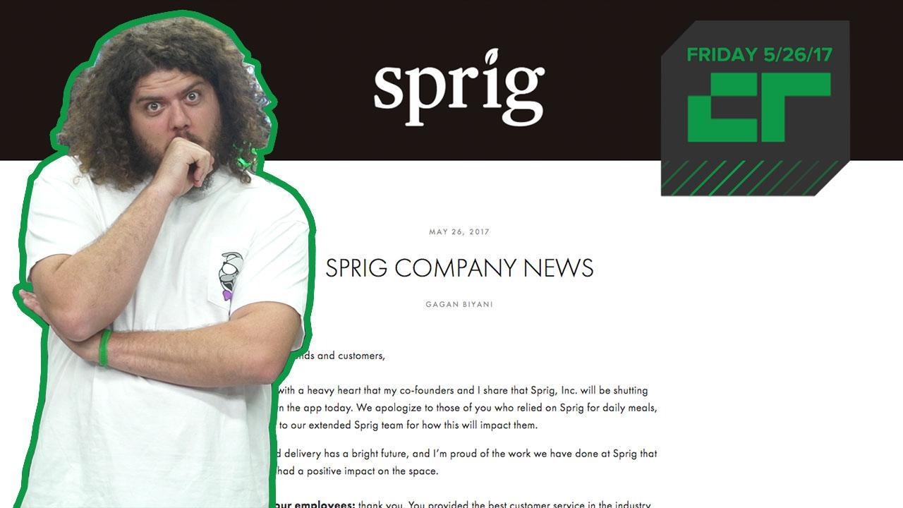 Crunch Report | Sprig Is Shutting Down