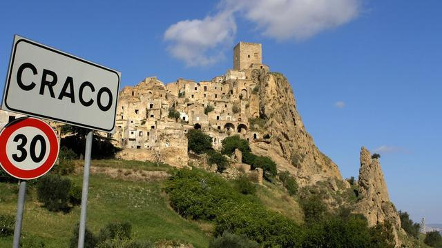 After Over 1,400 Years Of Habitation, Italy's Craco Stands As A Ghost Town