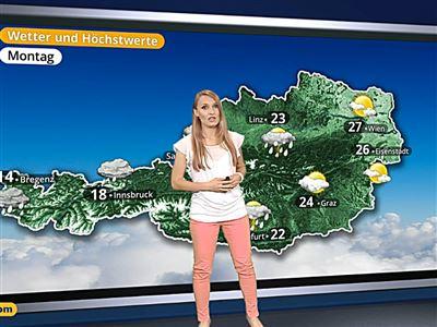 Das Wetter in Österreich am 27. Mai 2017