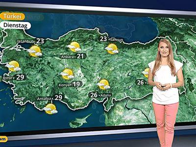 Das Wetter in Europa am 27. Mai 2017