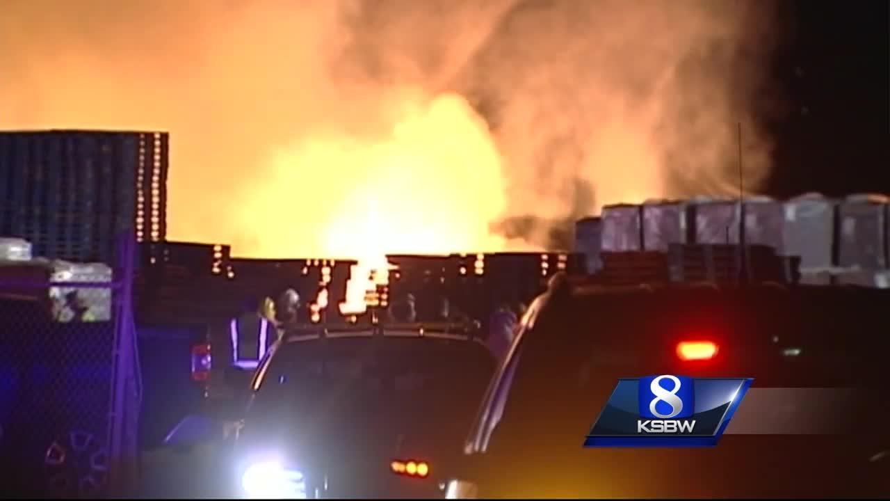 arson suspect arrested in spreckels pallet fire