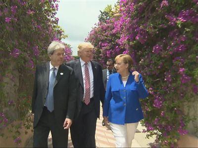 Trump in Taormina: Blockade der G7-Erklärung