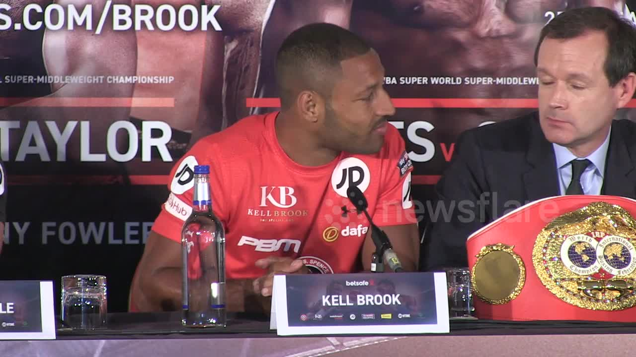 Brook and Spence exchange final words