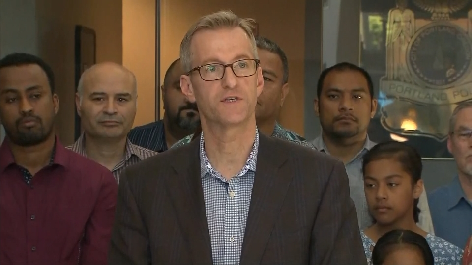 Mayor to Muslims: 'Portland stands by you'