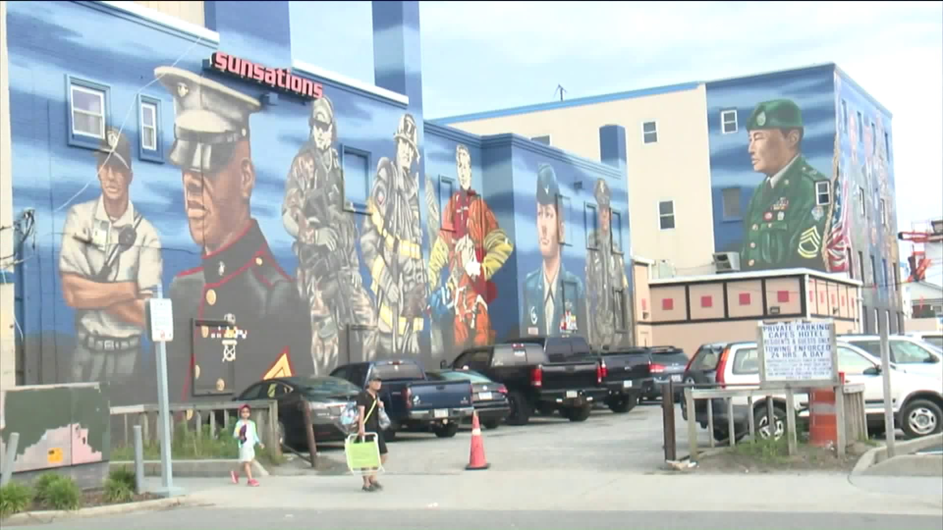 Military Mural in Virginia Finished Just in Time for Memorial Day