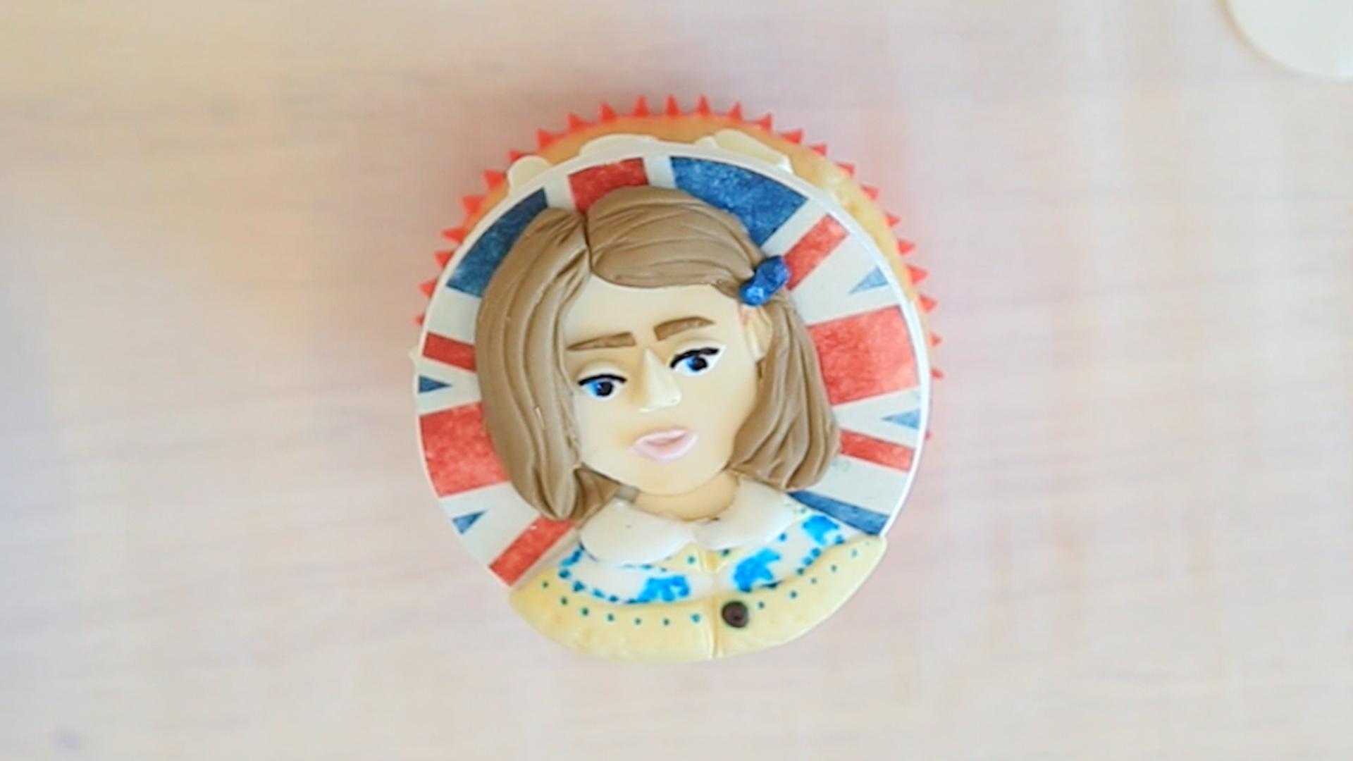 Princess Charlotte Cupcake With EatGoodNYC