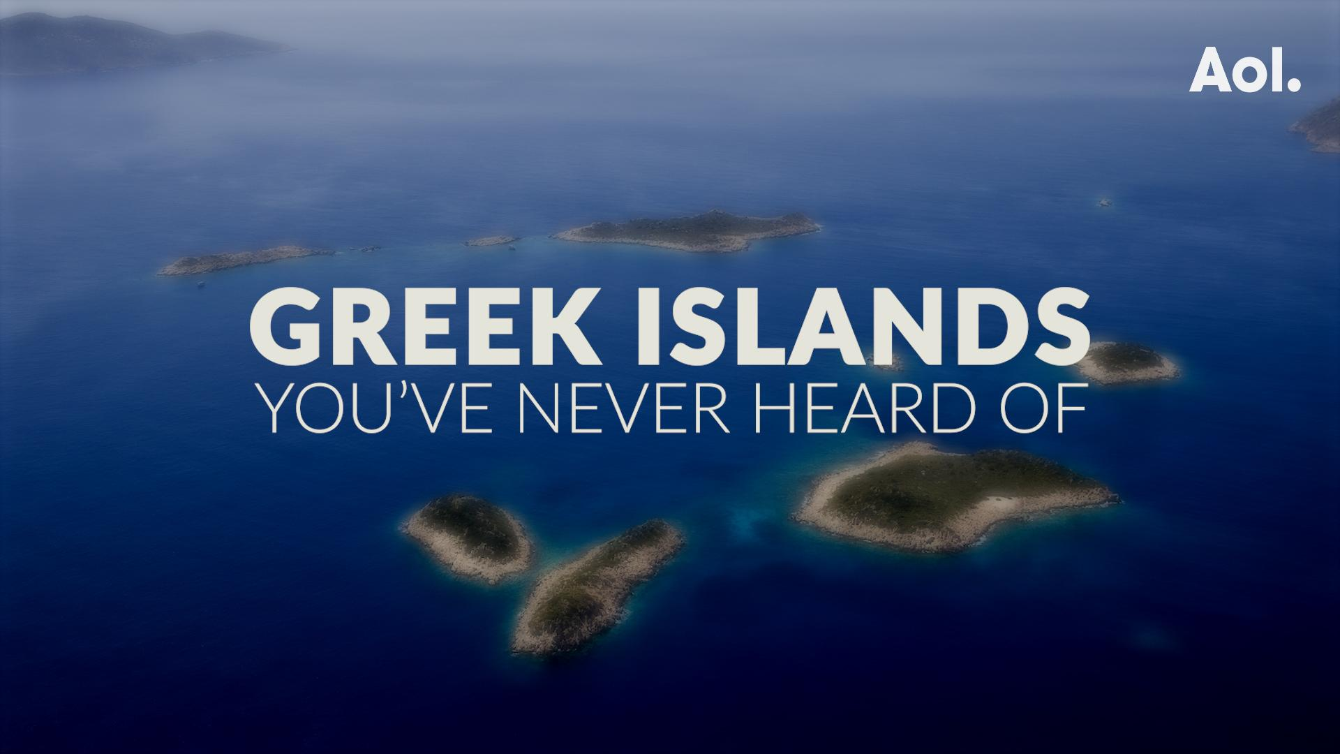 Greek Islands You've Never Heard Of