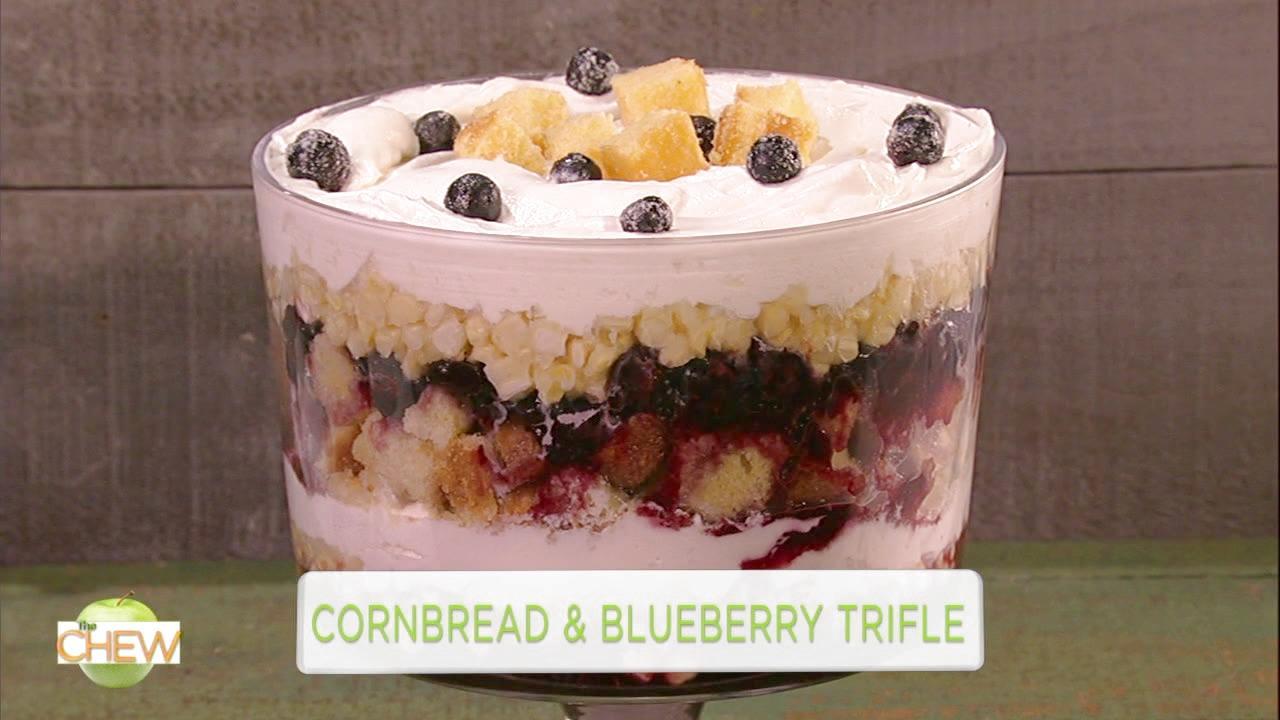 Cornbread and Blueberry Trifle Recipe