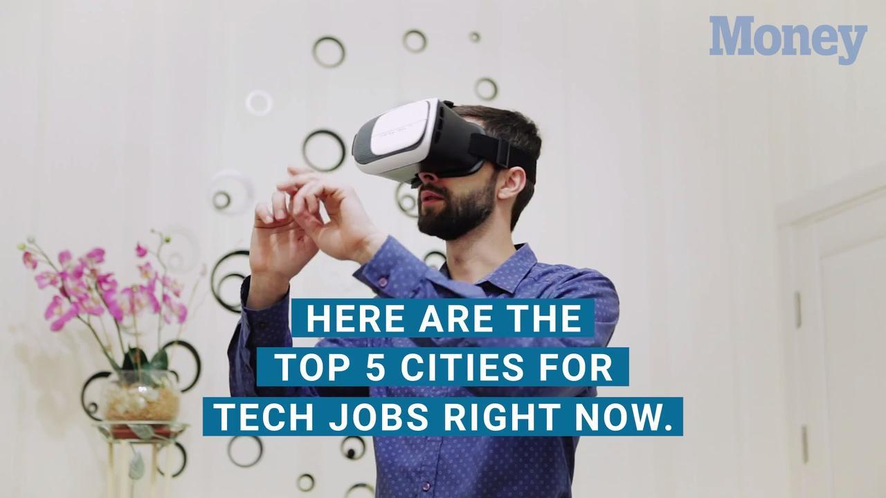 The Hottest Cities for Tech Jobs Now