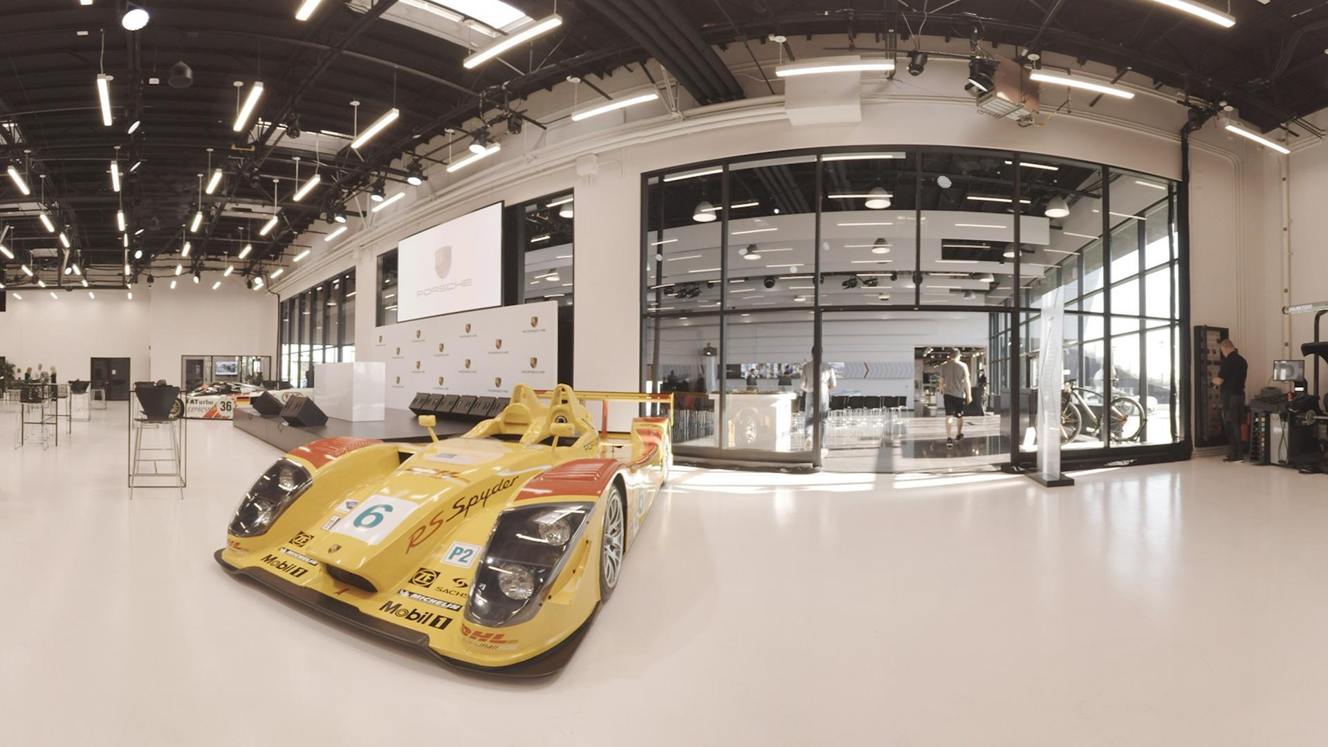 Visiting the Porsche Experience Center in Los Angeles